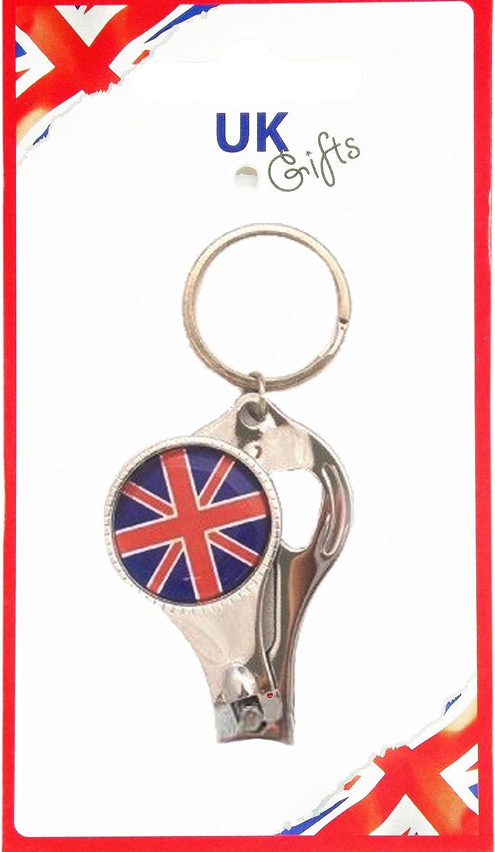 公式 Nail Clipper Drinks Opener Bottle Opener Union Design Key Ring Union Jack Design Souvenir Gift B008LMQQYS, ツキヨノマチ:376abf4a --- arianechie.dominiotemporario.com