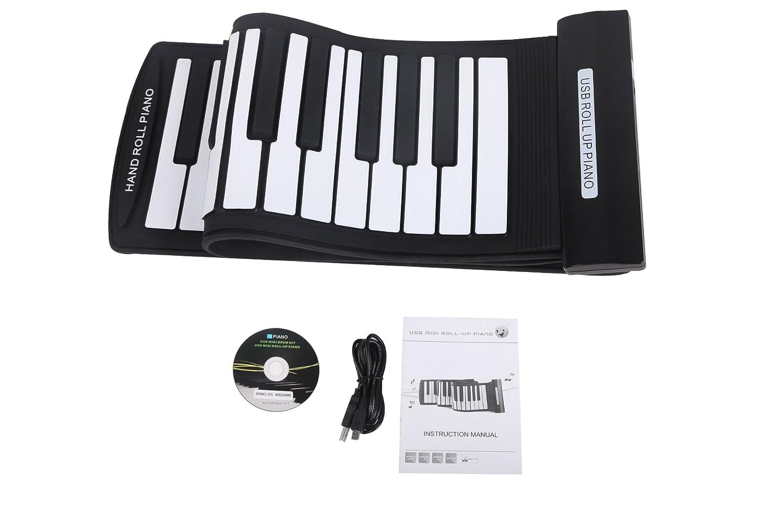 Buy Konix USB Midi Roll up Piano Flexible 61 Keys with Soft