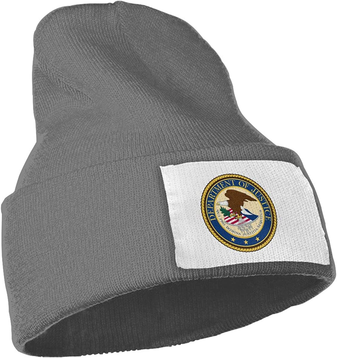 Zml0pping Department of Justice Unisex Cap