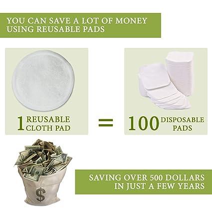 Amazon.com: Almohadillas de algodón reutilizables para la ...