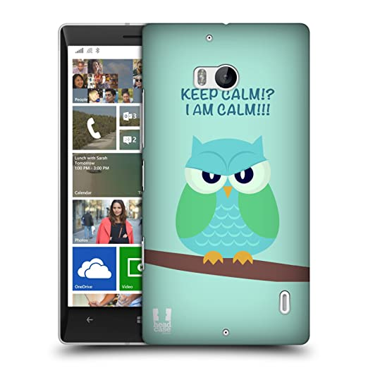 6 opinioni per Head Case Designs Green Wing Mean Owl Protective Snap-on Hard Back Case Cover