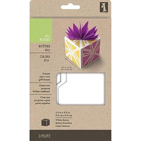 Inkadinkado 62-21003 Small Gift Boxes - White_62-21003