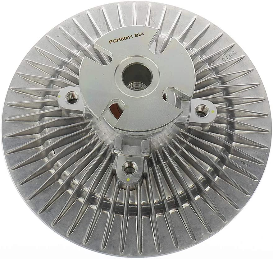 IRONTEK 2733 Engine Cooling Fan Clutch fits Ford E-150/E-250/E-350/F-150/F-250/F-350 1982-1986 Mercury Capri, 1983-1995 Ford Mustang, 1984-1986 Ford LTD, 1988-1996 Ford Bronco Radiator Fan Clutch