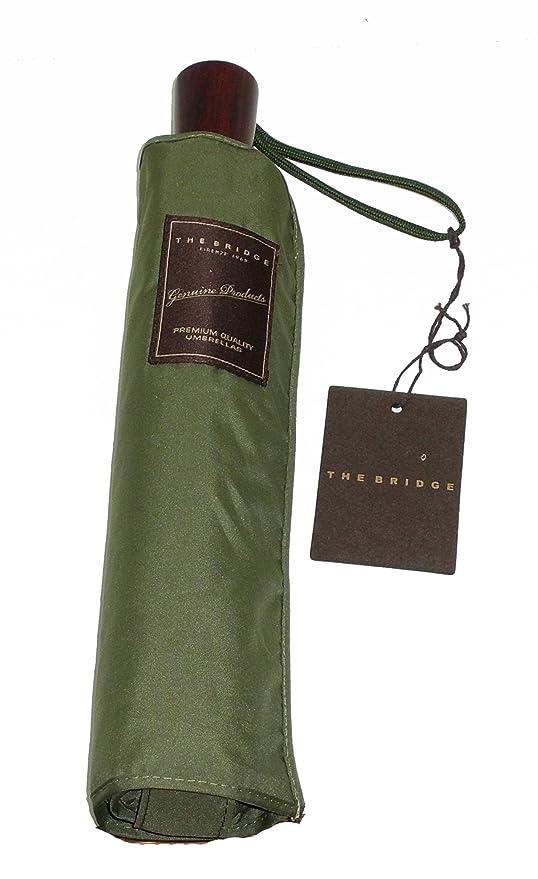 44083ca196 Ombrello uomo pieghevole The Bridge men's mini umbrella Складной зонт 7011  VERDE