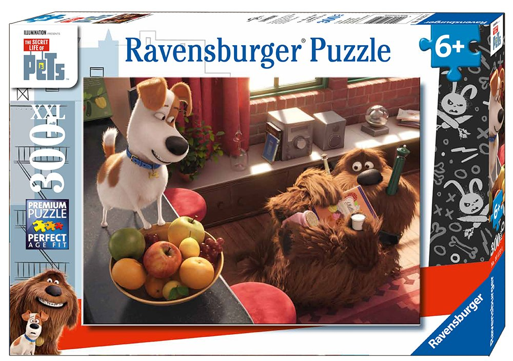 Ravensburger The Secret Life of Pets 100 Piece Jigsaw Puzzle for Kids – Every Piece is Unique, Pieces Fit Together Perfectly