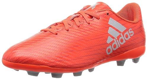 outlet store b67f4 3f263 adidas X 16.4 FxG, Scarpe da Calcio Bambino, Arancione (Solar Silver  Metallic
