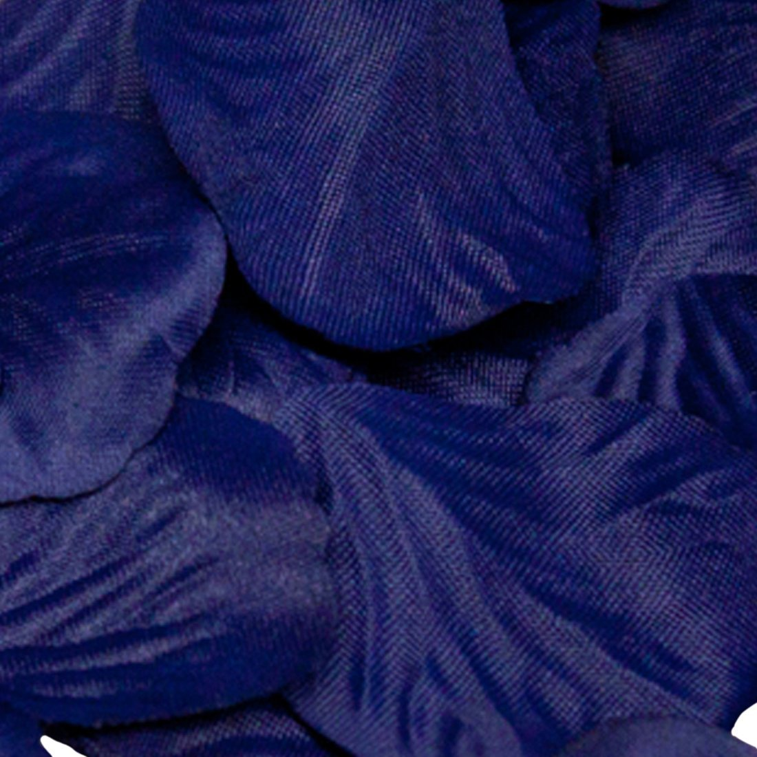 poli/éster Color Azul Marino Eleganza P/étalos de Rosa 164 Unidades