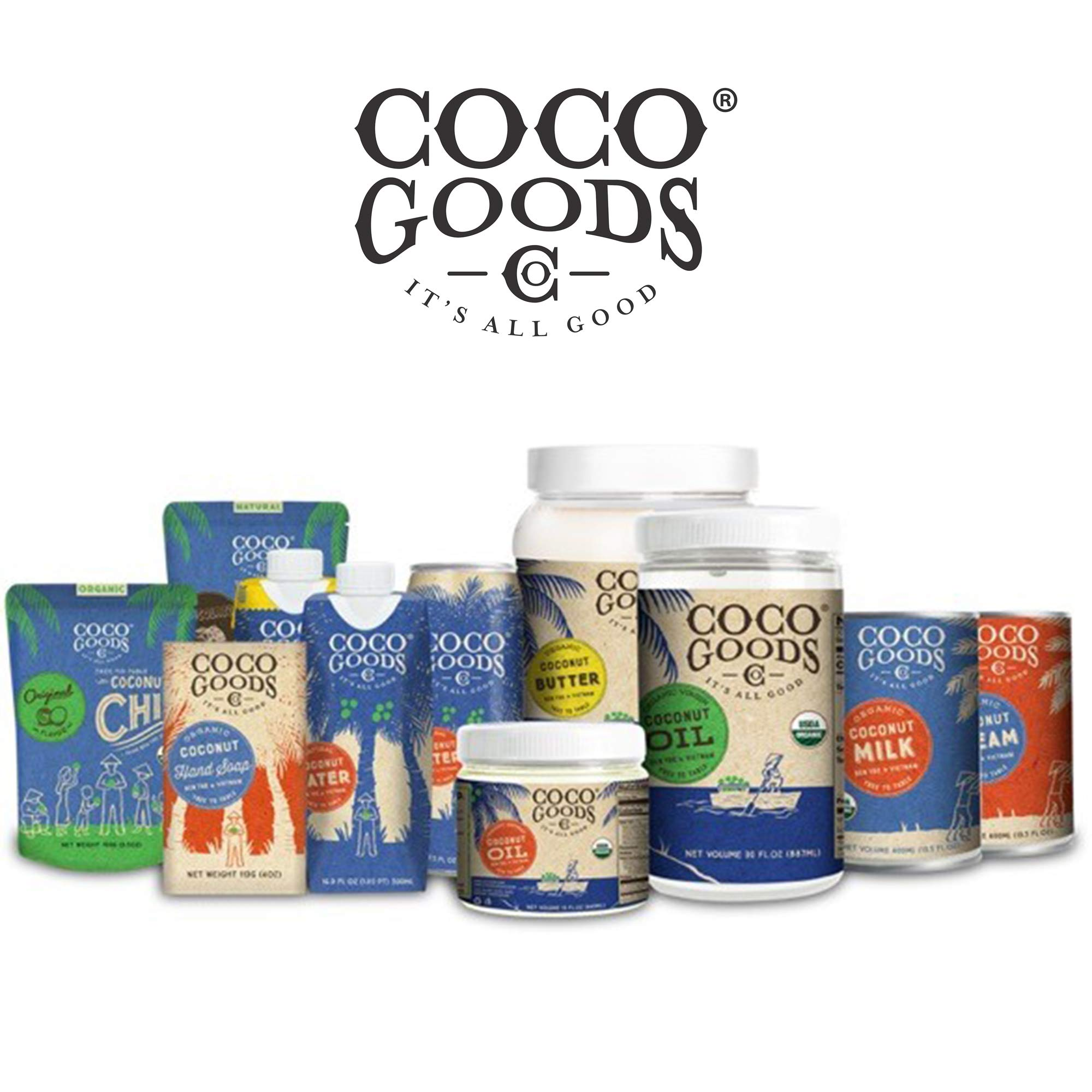 CocoGoods Co. Vietnam Single-Origin Organic Coconut Cream 13.5 oz - Gluten-free, Non-GMO, Vegan, & Dairy-free (Pack of 12) by COCOGOODSCO (Image #6)