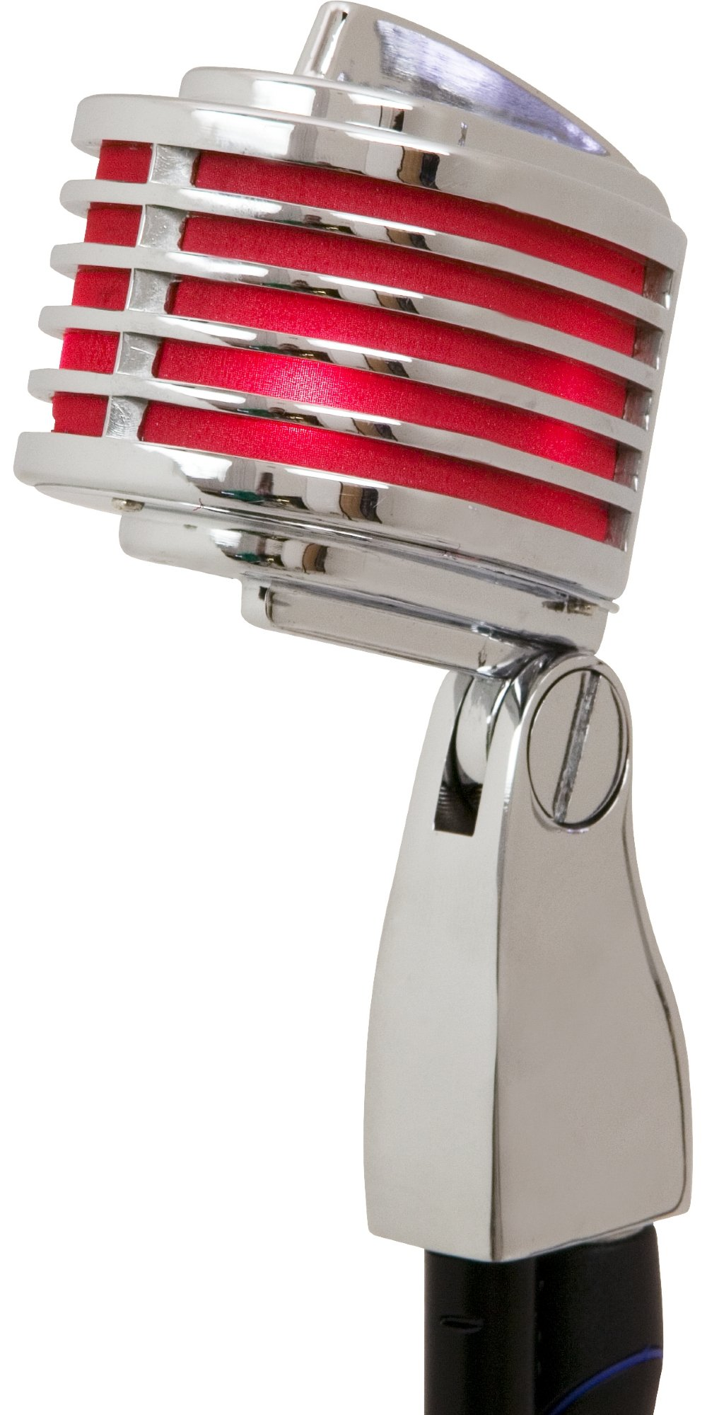 Microfono Heil Sound The Fin Dynamic  White Red...