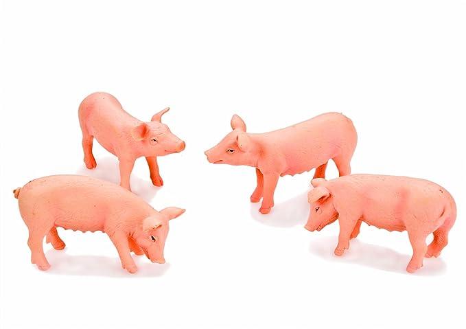 Quatre porcs blancs