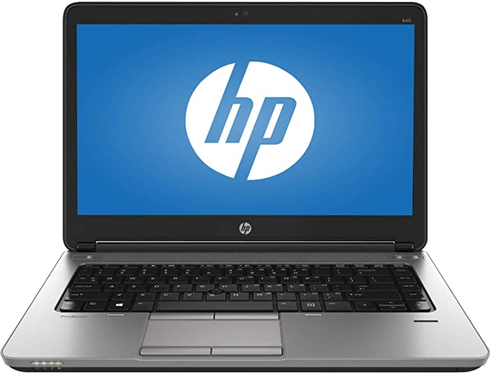HP ProBook 640 G1 Intel i5-4200M 2.50GHz 8GB RAM 128GB SSD Windows 10 Pro (Renewed)