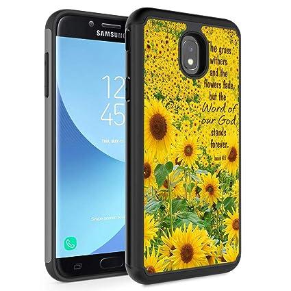 Amazon.com: Funda protectora de doble capa para Samsung ...