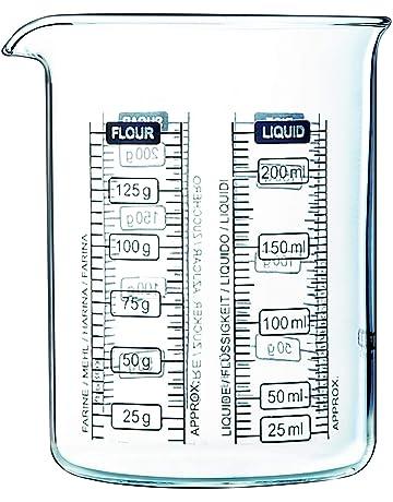 Pyrex Kitchen Lab - Mezclador y medidor para salsas