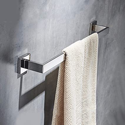 LVLIDAN Soporte Colgador de Toallas Toalla de baño rampa Bar Estilo Sencillo de 50cm