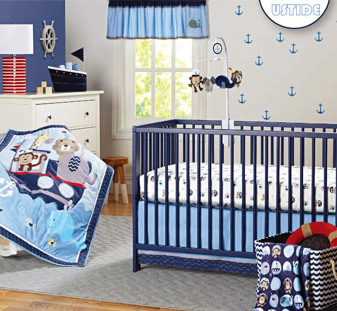 Ocean Themed Bedding Set For Cots