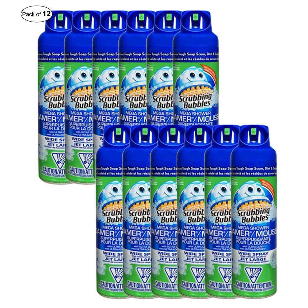 Scrubbing Bubbles Bathroom Mega Shower Foamer (567g) (Pack of 12) by Scrubbing Bubbles ® (Image #1)