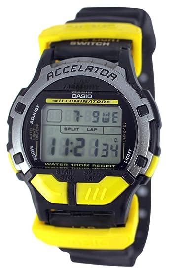 Casio ACL-100F-9V - Reloj de pulsera hombre, caucho, color negro: Amazon.es: Relojes