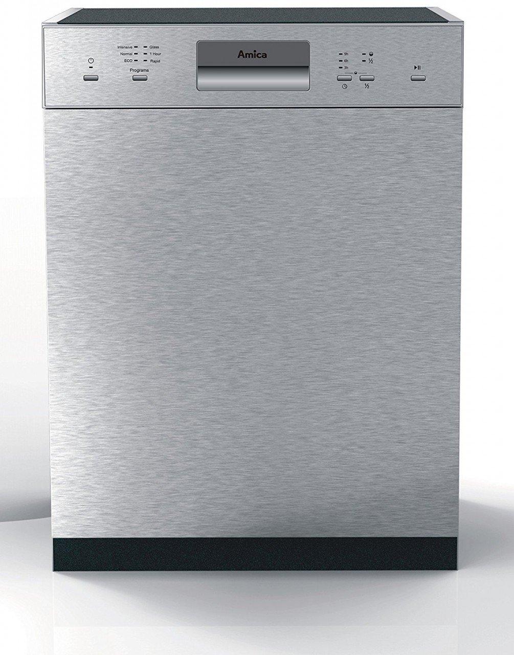 Amica EGSP 14696 E lavavajilla Semi-incorporado 14 cubiertos A++ ...