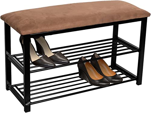 Sorbus Shoe Rack Bench Shoes Racks Organizer Perfect Bench Seat Storage