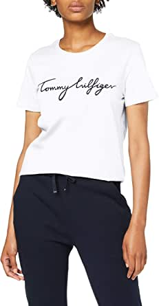 Tommy Hilfiger Women's Heritage Crew Neck Graphic Tee