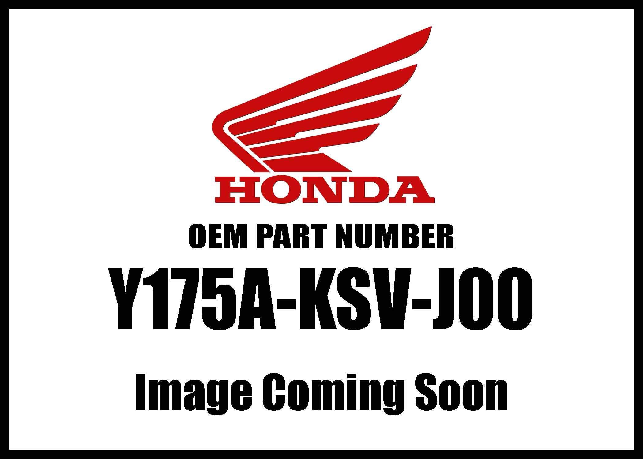 Honda Mc-Accy Trim A Fuel Tank Y175a-Ksv-J00 New Oem