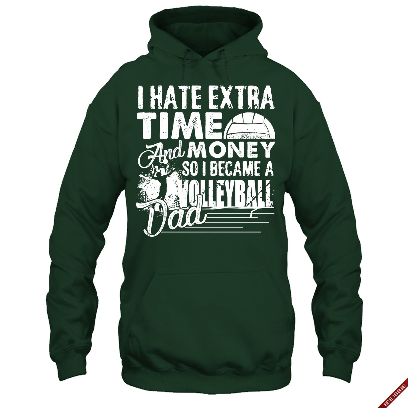 Volleyball Tshirt Design Became A Volleyball Dad T Shirt Amazon