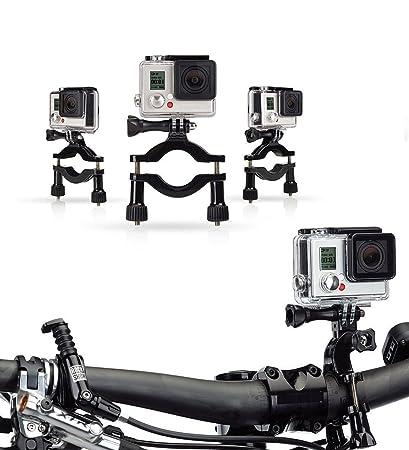 Navitech Fahrrad-Action-Kamera-Roll-Bar für GoXtreme BlackHawk 4K Action Camera