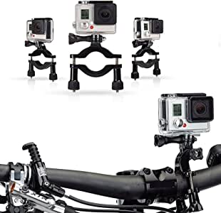 Navitech Cycle/Bike/Bicycle & Motorbike Roll Bar Mount Compatible with The SJCAM SJ5000 WiFi Action Camera