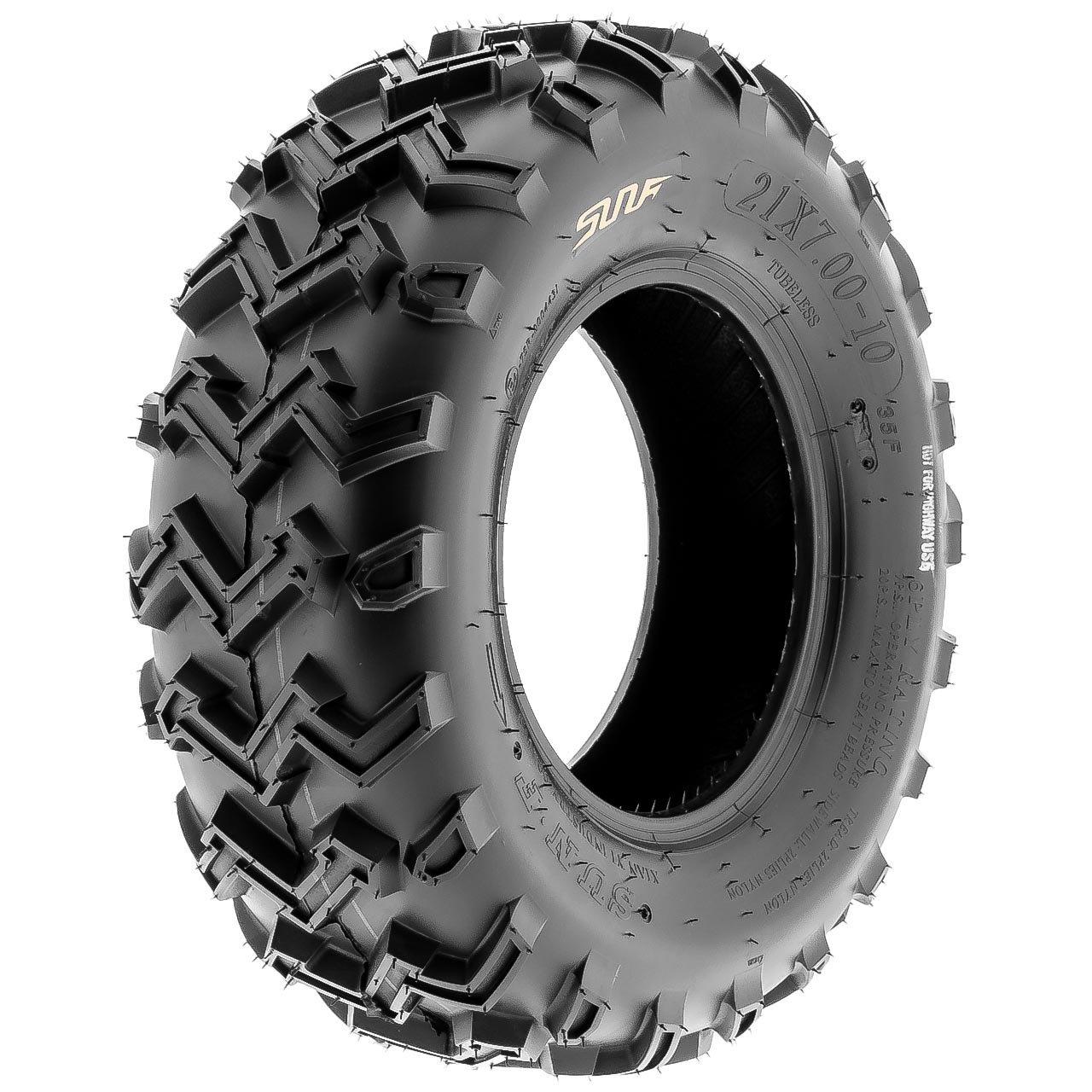 SunF A001 Off-Road ATV/UTV Tire 24x8-12, 6 PR, Directional Tread