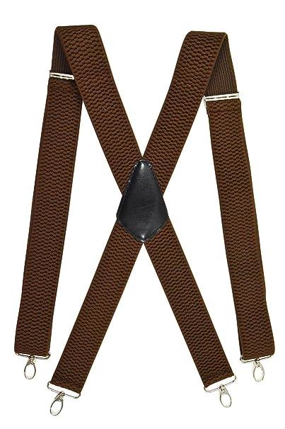 Thick Multi Coloured Adjustable Braces Mens Women Fancy Dress Clip On Slim 2.5
