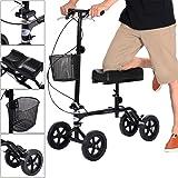 Amazon.com: Homcom – orientable – Andador de rodilla Scooter ...
