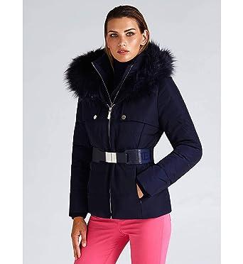 Xs it Collo Tg Donna Cintura Amazon Alto Abbigliamento Piumino Guess YUxq8Rg