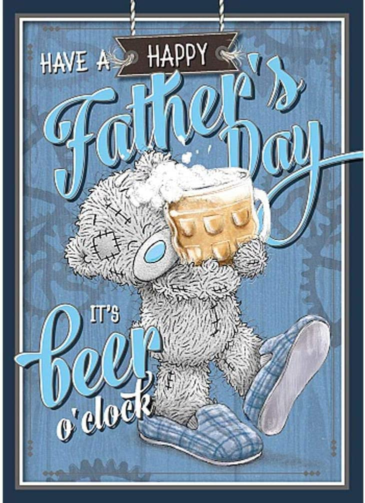 Happy Fathers Day Beer oclock Me to You Fathers Day Card