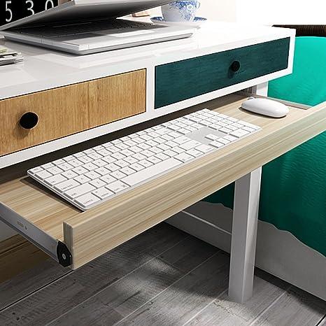 Bandeja para teclado y cajones para debajo del escritorio, cómoda ya la moda, ideal para muebles y escritorios