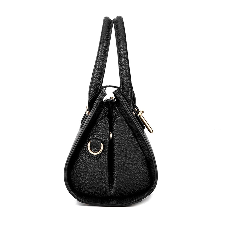 Myleas Neue Mode Damen PU PU PU Leder Schultertasche Handtasche Hobo B01N8PJXQF Umhngetaschen Moderne und stilvolle Mode 2a8930