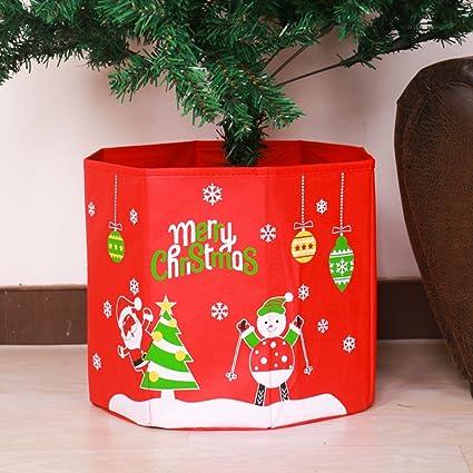 Amazon Com Coxeer Christmas Tree Stand Box Christmas Base Cover