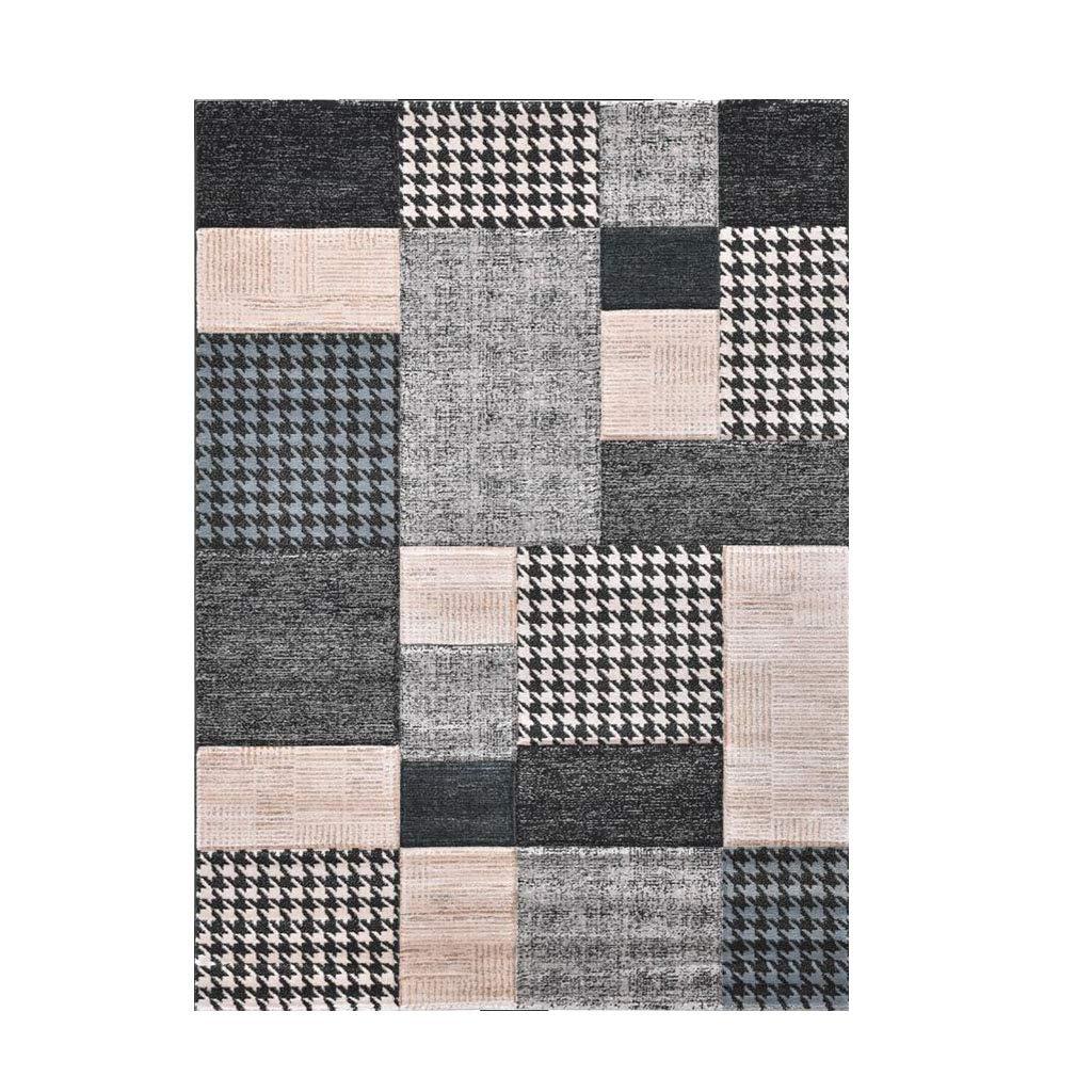 カーペットリビングルームコーヒーテーブルカーペットベッドルームのベッドサイドの長方形の床マットアブストラクトアートカーペット (サイズ さいず : 130*190cm) B07L9789V5  130*190cm