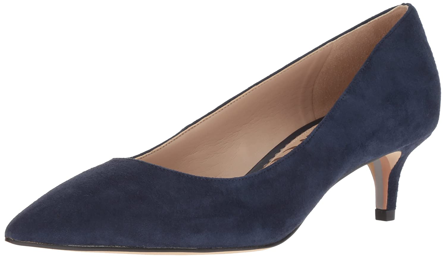 Sam Edelman Women's Dori Pump B07BR7XJQL 6.5 W US|Baltic Navy Suede