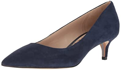 08fb5b067 Sam Edelman Women s Dori Pump Baltic Navy Suede 5 ...