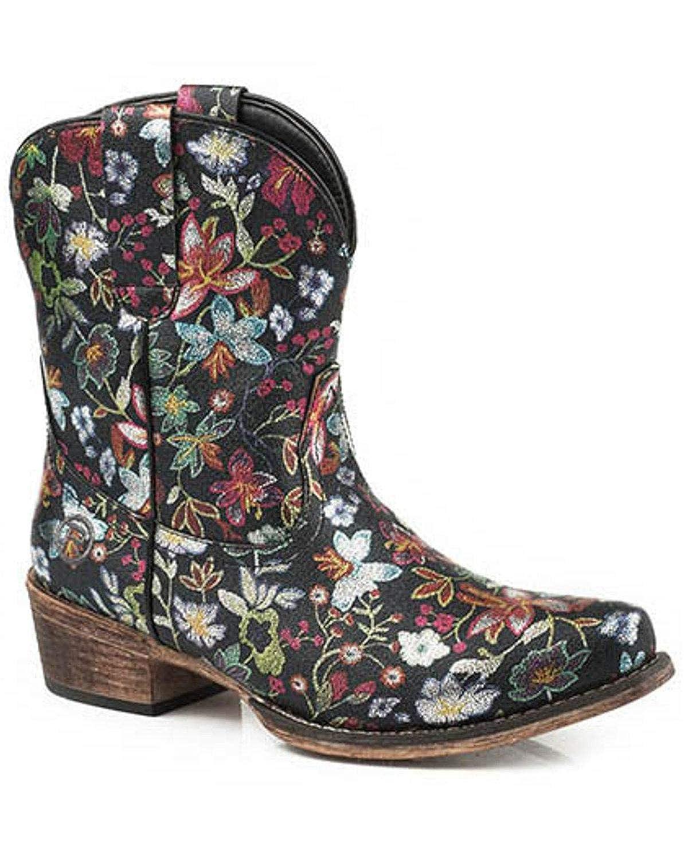134c5cd7c82 Roper Ladies Ingrid Snip Toe Gold Boots