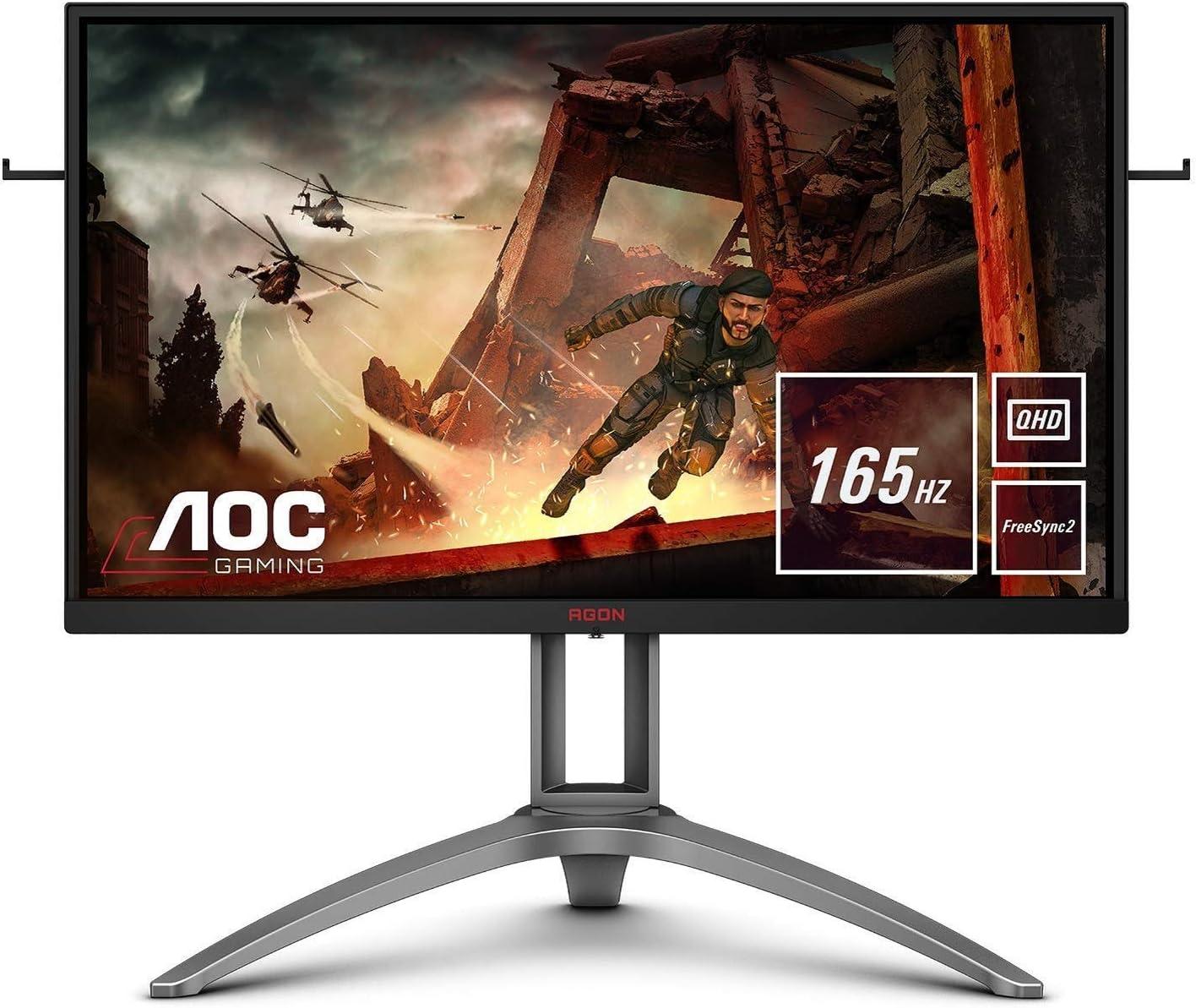 AOC AGON AG9QX 9 cm (9 inch) monitor (HDMI, DisplayPort, USB Hub,  Free-Sync 9, 9ms response time, HDR 9, 9560 x 9440, 965 Hz) black