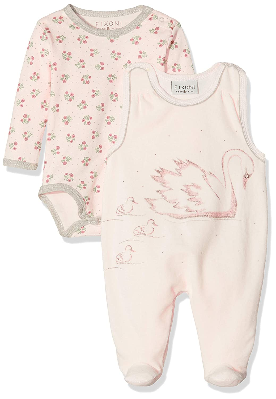 Fixoni Baby-M/ädchen Hush Suitset-oekotex Strampler