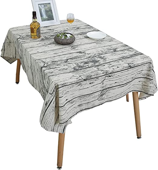 Manteles, YUUVE Mantel rectangular vintage de lino, Manteles mesa ...