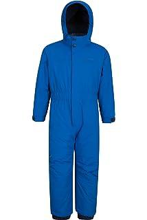 460ecb187 Preself  One-Piece Winter Snowsuit Boys Girls Waterproof Windproof ...