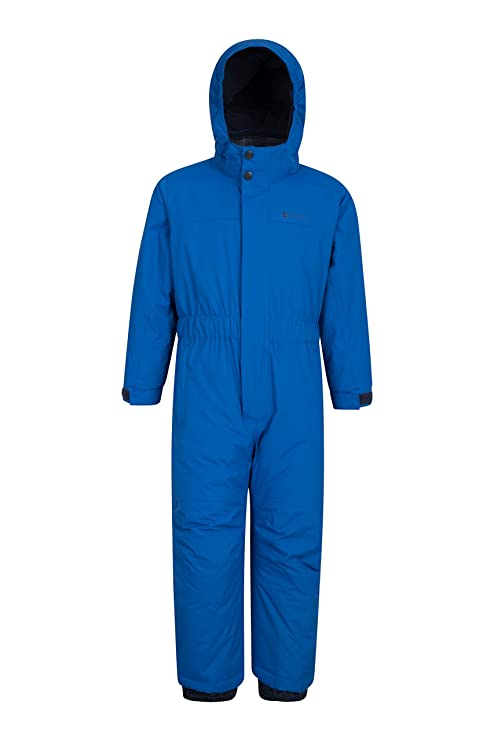 b075c5d3979 Mountain Warehouse Cloud All In 1 Kids Snowsuit - Waterproof Rainsuit  Cobalt 2-3 years