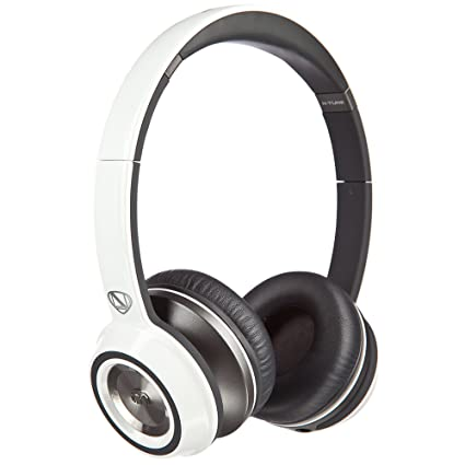 96d85113191 Amazon.com: Monster NCredible NTune On-Ear Headphones, White: Home Audio &  Theater