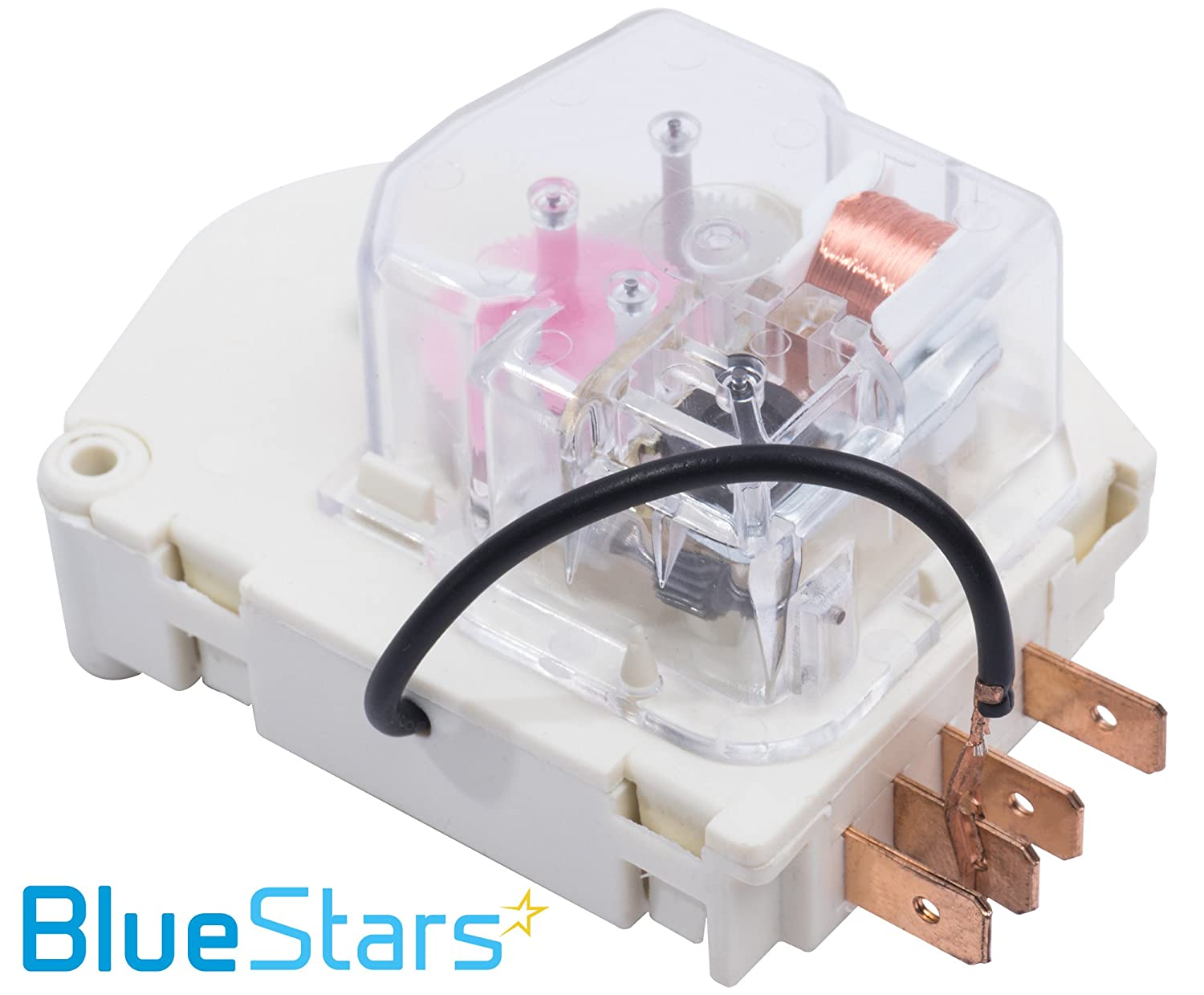 W10822278 Refrigerator Defrost Timer By Blue Stars Magic Chef Wiring Diagram Exact Fit For Whirlpool Kitchenaid Kenmore Replaces Ps11723171 945514
