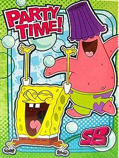 Amazon Com Spongebob Squarepants Party Invitations 8 Invitations