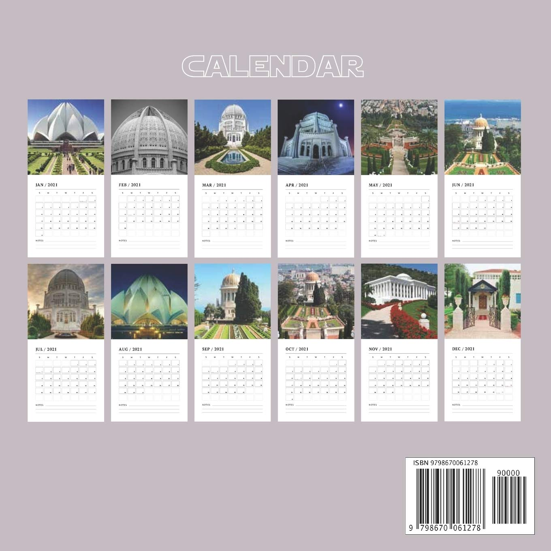 Bahai Calendar 2022.Baha I 2021 Wall Calendar Official Baha I Faith Religion 2021 Calendar 16 Months Calendars 2021 2021 Wall 9798670061278 Amazon Com Books
