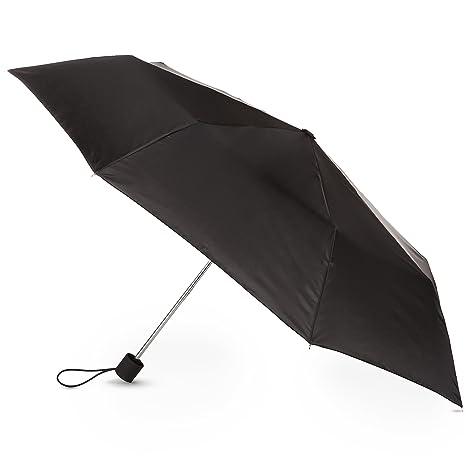 82d160a807f6 Totesport Maunal Compact Umbrella, Black, One Size